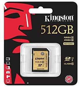 Kingston Ultimate SDXC 512GB Memory Card